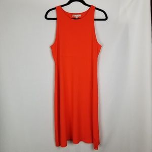 Athleta Santorini Fire Orange Dress _ Large